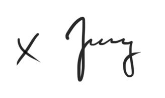 Jenny's autograph